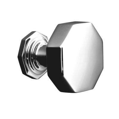 Pinstripe 1-1/4 in. Polished Chrome Cabinet Knob