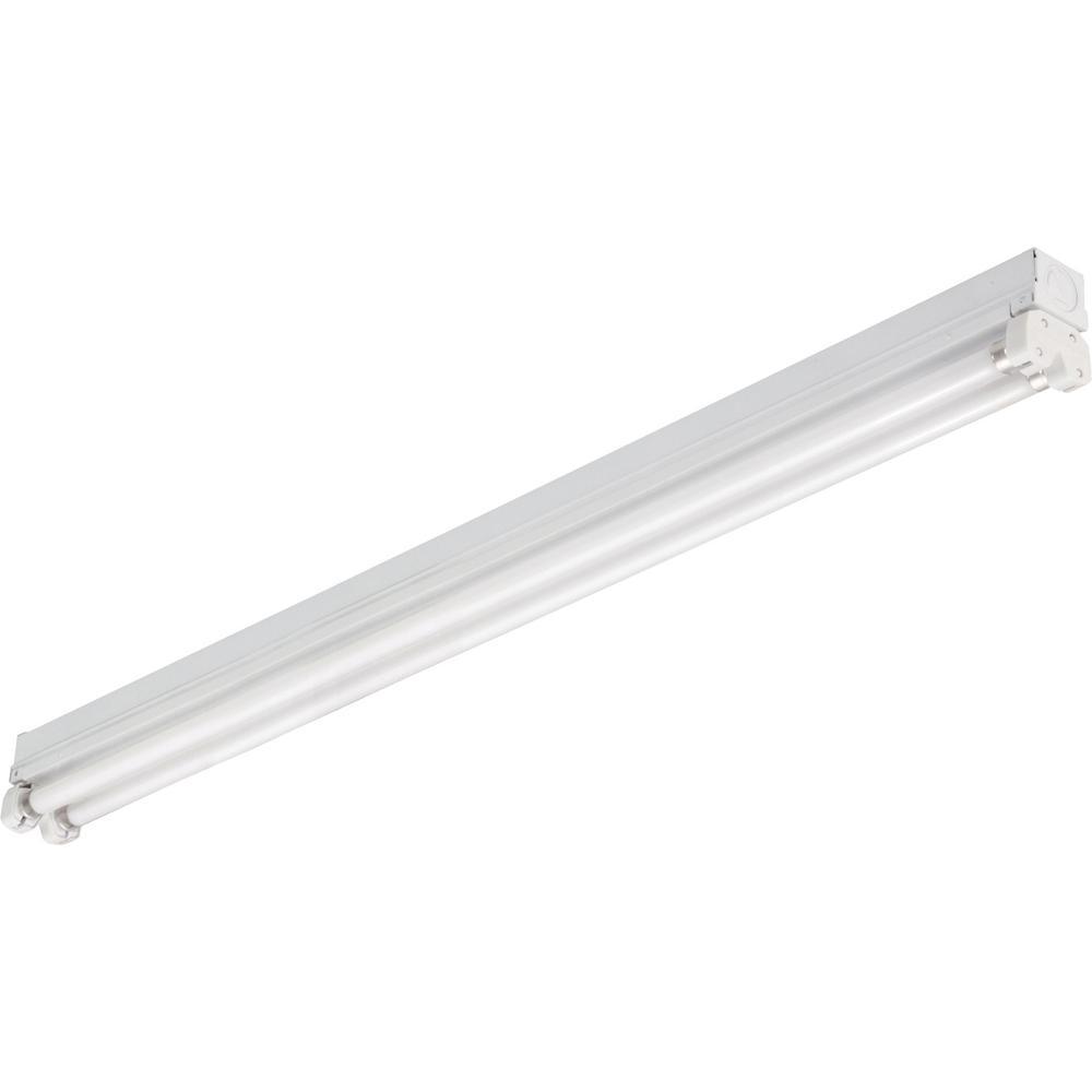 1 Lithonia Lighting MNS5 2 21 LP M6 2-Light T5 Mini-Strip Light with Bulb,..