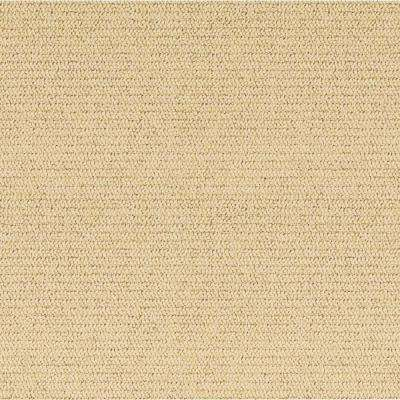 Carpet Sample - Ellsbury Rib - Color Manilla Loop 8 in. x 8 in.