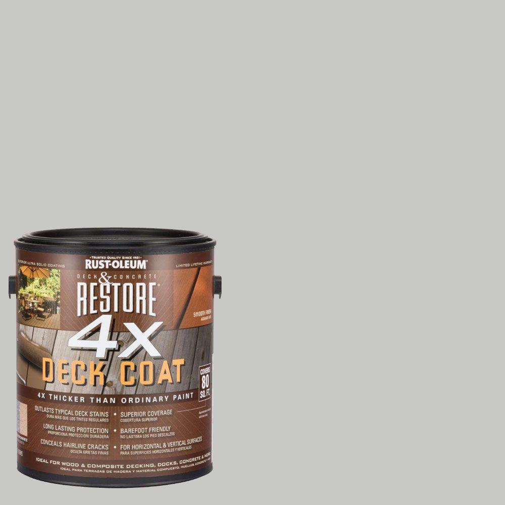 Rust-Oleum Restore 1 gal. 4X Graywash Deck Coat