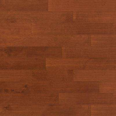 Scraped Birch Sunset 3/8 in. Thick x 4-3/4 in. Wide x Random Length Engineered Click Hardwood Flooring (33 sq. ft./case)