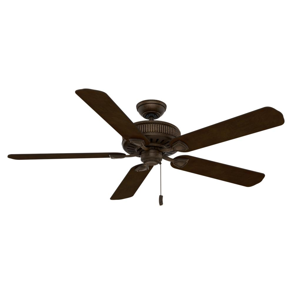 Ainsworth 60 in. Indoor Provence Crackle Bronze Ceiling Fan with Light