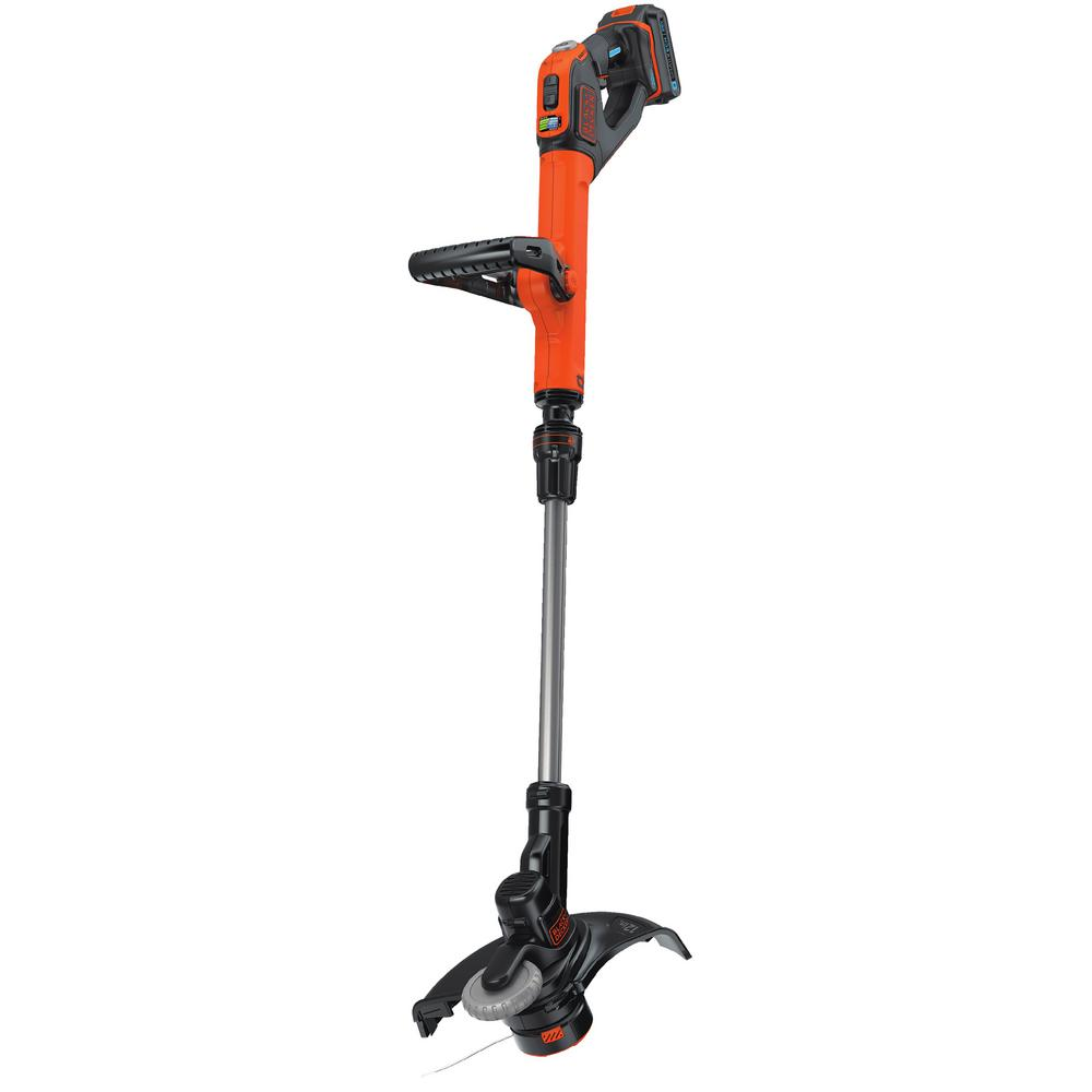 SMARTECH 20-Volt Max Lithium Ion Electric Cordless EASYFEED String Trimmer