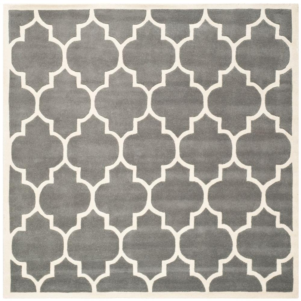 Chatham Dark Grey/Ivory 8 ft. 9 in. x 8 ft. 9