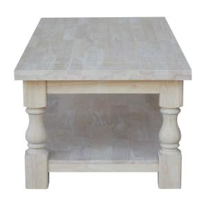 921e6724ee16 Internet  205977885. +4. International Concepts Tuscan Unfinished Coffee  Table