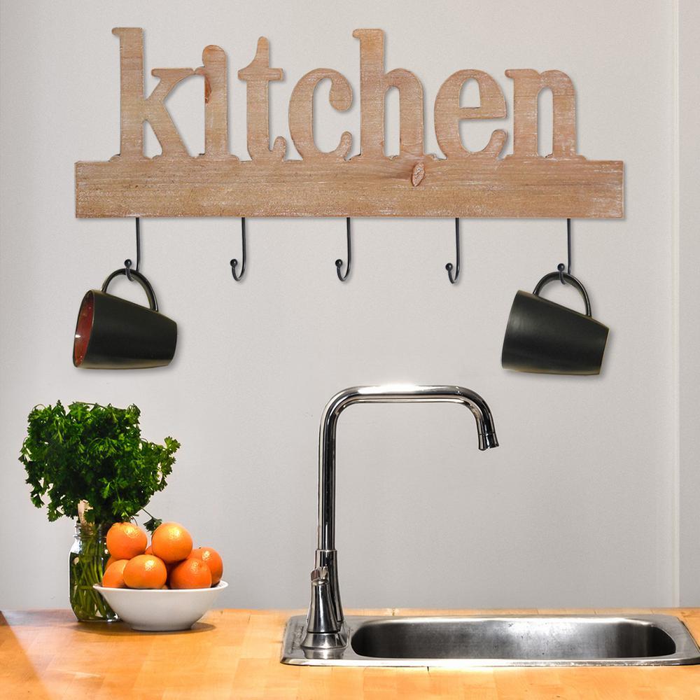 Stratton Home Decor Stratton Home Decor Kitchen Typography Decorative Sign by Stratton Home Decor