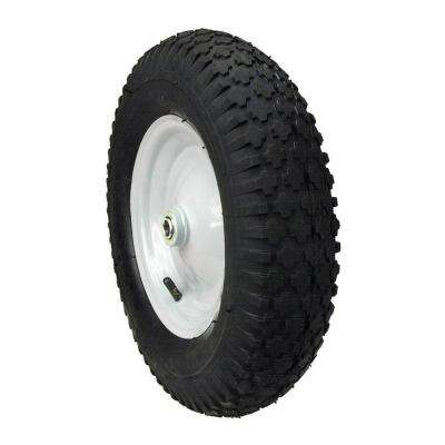 Hub Knobby Tread Wheelbarrow Wheel