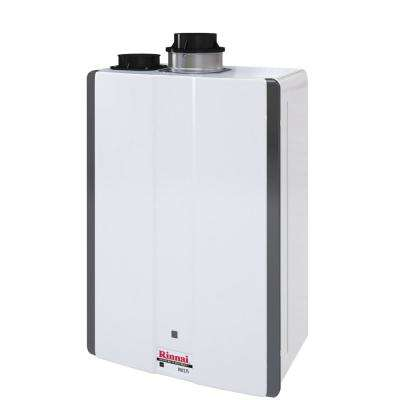 Super High Efficiency 7.5 GPM Residential 160,000 BTU Natural Gas Interior Tankless Water Heater
