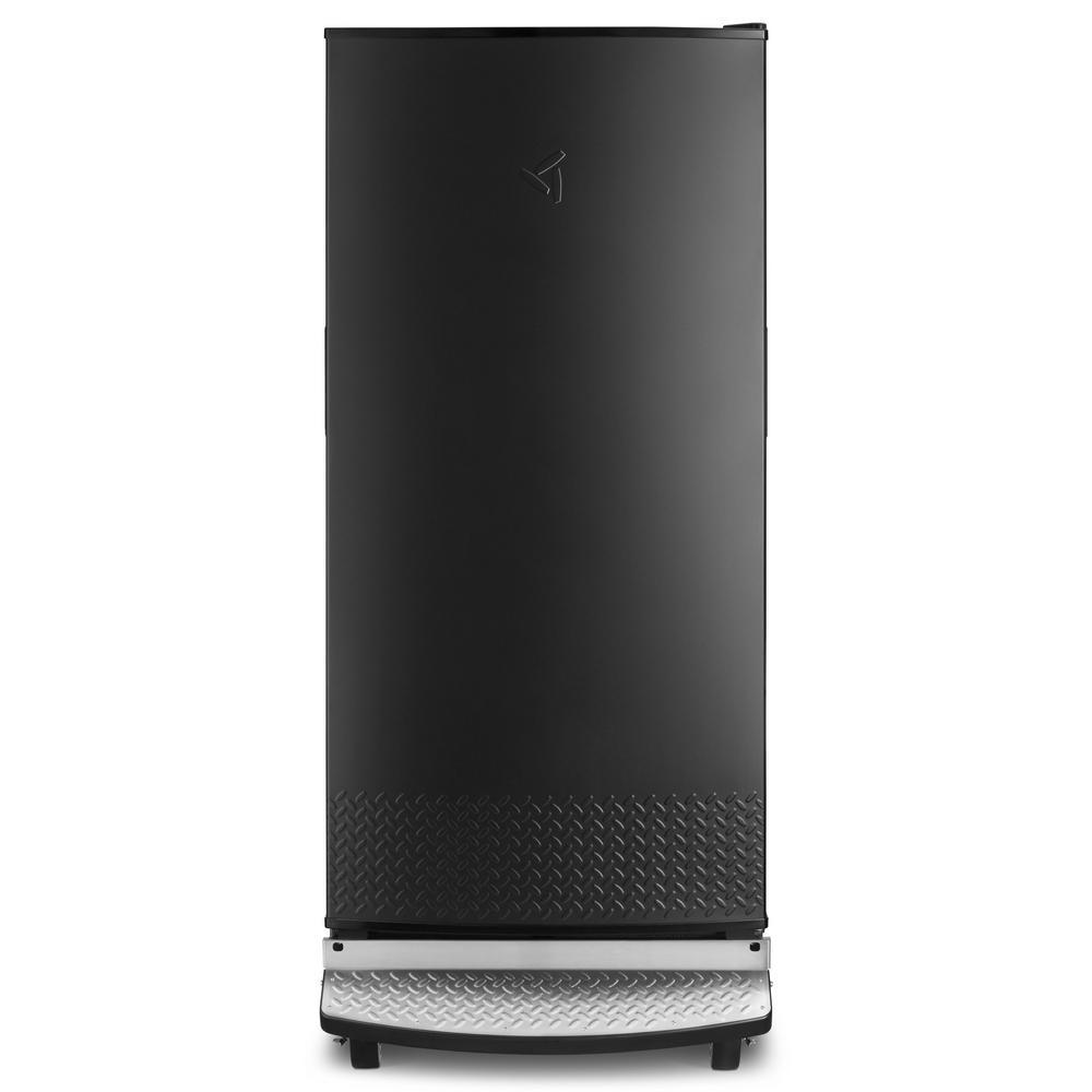 17.8 cu. ft. Rolling Freezerless Refrigerator in Black