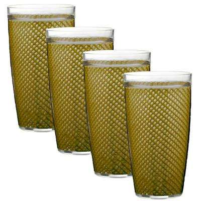 Fishnet 22 oz. Moss Insulated Drinkware (Set of 4)