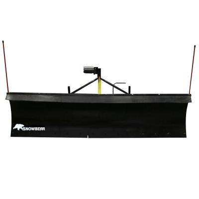 Heavy-Duty 82 in. x 19 in. Snow Plow for Jeeps, Smaller Trucks and SUVs