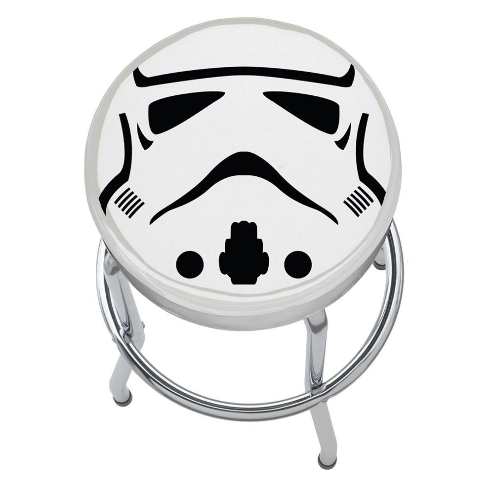 Surprising Star Wars Storm Trooper Taburete De Garaje Taller Banco De Creativecarmelina Interior Chair Design Creativecarmelinacom