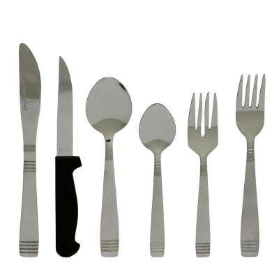 Palmore Plus 24-Piece Stainless Steel Flatware Set