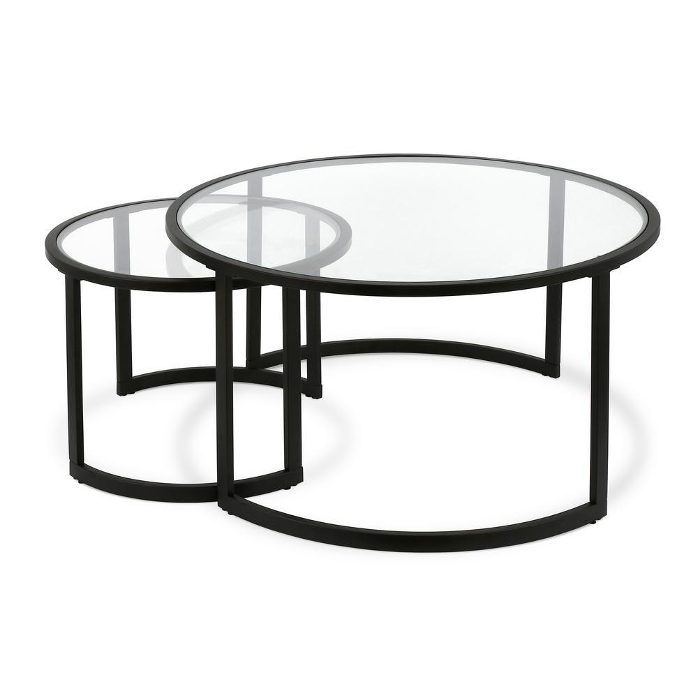 Mitera Blackened Bronze Coffee Table Set