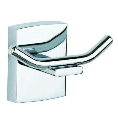 Klaam Double Robe Hook in Chrome