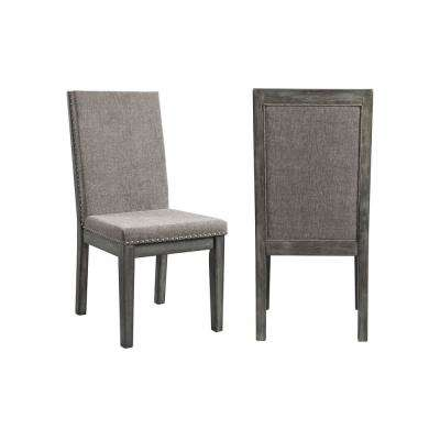 Austin Grey Upholstered Dining Chair (Set of 2)