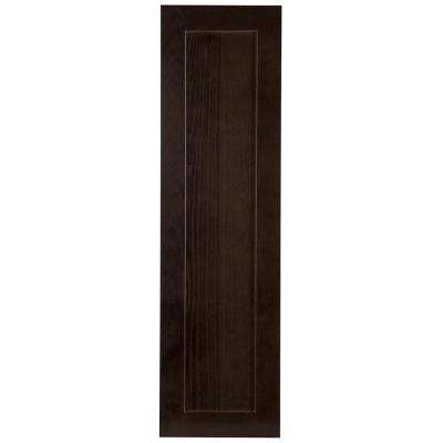 11.77x42.01x0.79 in. Decorative Wall End Panel in Dusk