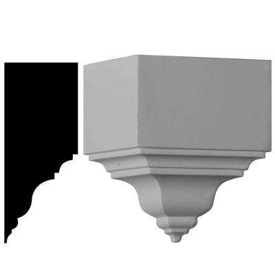 5 in. x 3-1/8 in. x 7-3/4 in. Outside Corner for Moulding Profiles