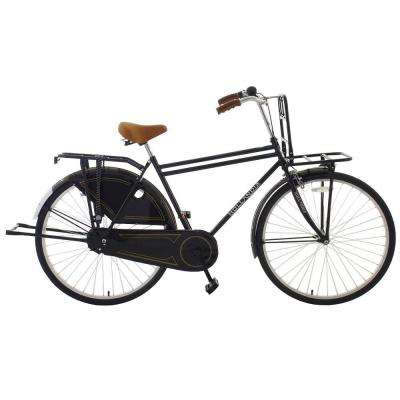 Opa Dutch Cruiser Bicycle, 28 in. Wheels, 18 in. Frame, Men's Bike in Black