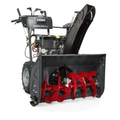 Steerable 30 in. Two-Stage Electric Start Gas Snow Blower