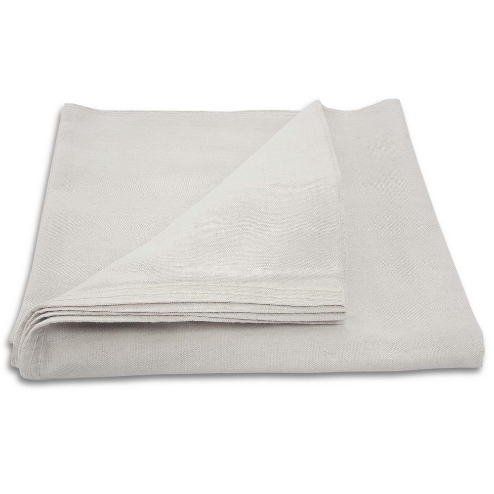 Everbilt 5 ft. x 4 ft. Poly Backed Canvas Drop Cloth