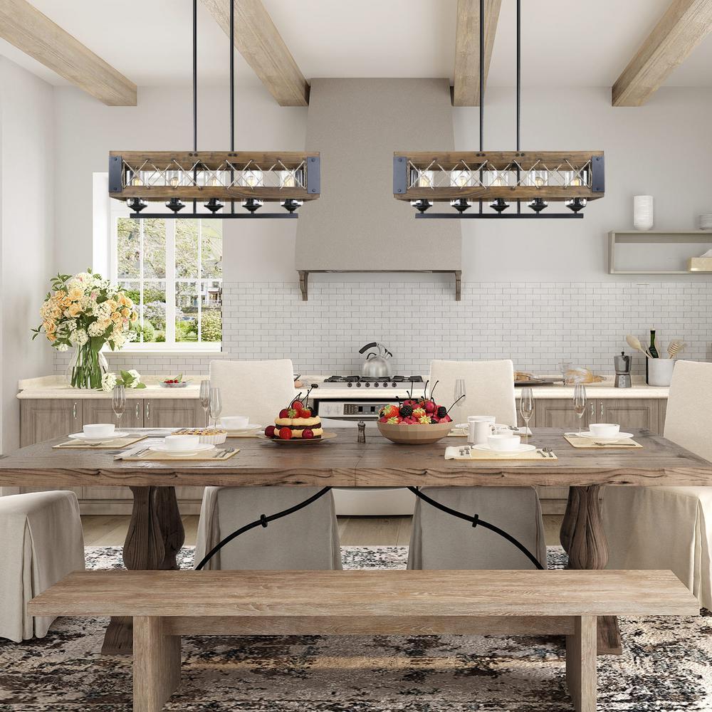 Black Pendant Light Dining Room Homedecorations