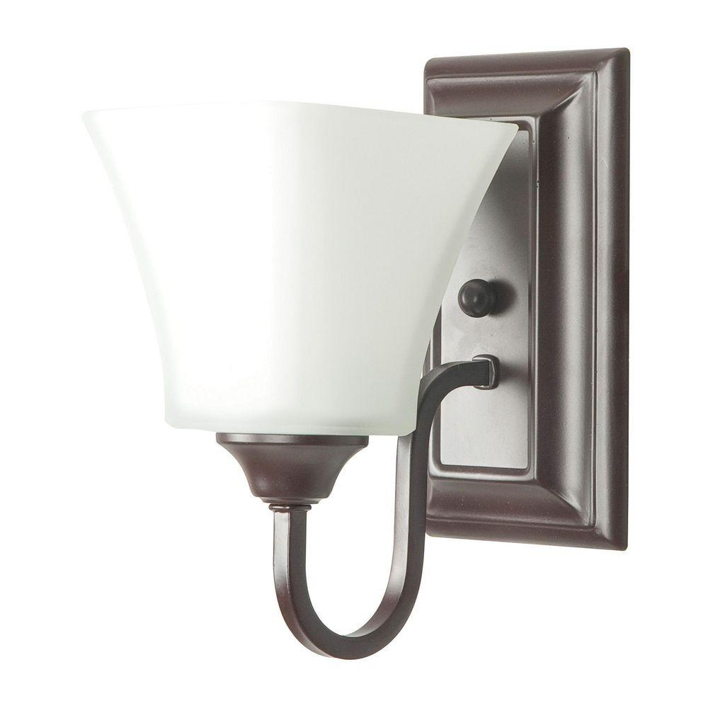 Sunset Hartzog 1 Light Oil Rubbed Bronze Sconce F3681 44