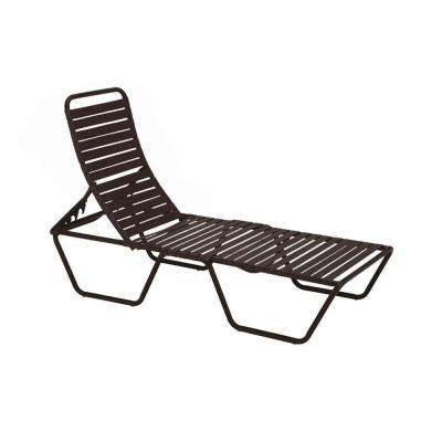 Milan Java Commercial Patio Chaise Lounge