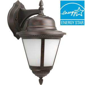 Progress Lighting Westport Collection 1-Light Outdoor Antique Bronze Wall... by Progress Lighting