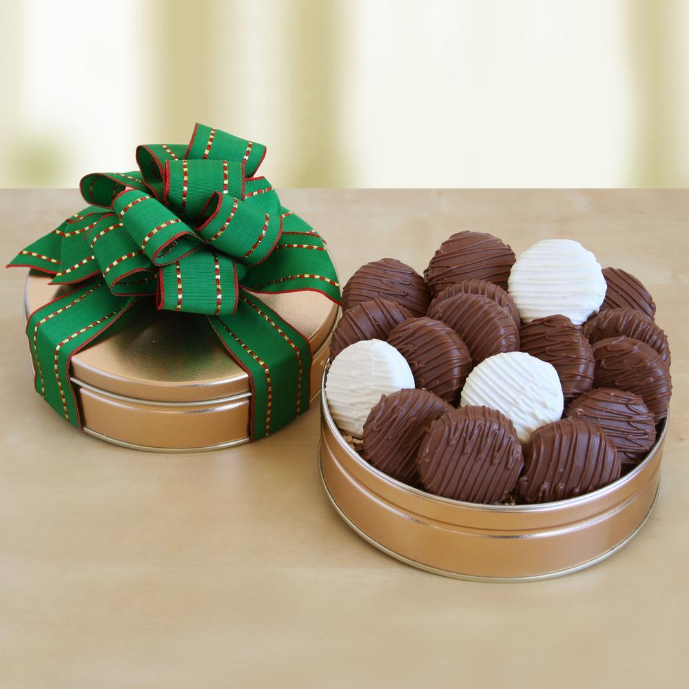 Devilishly Chocolate Dipped Cookies