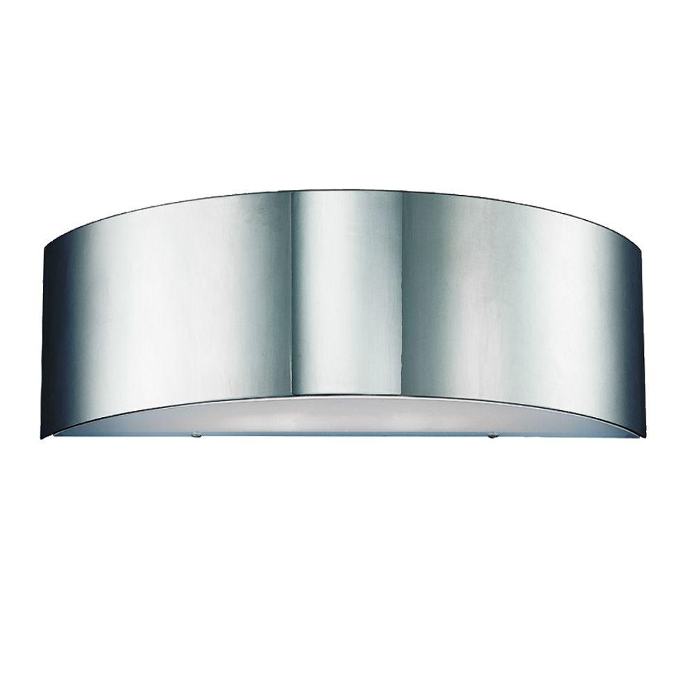 Dervish Collection 1-Light Chrome Wall Sconce