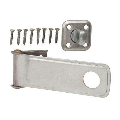 6 in. Galvanized Rotating Post Safety Hasp