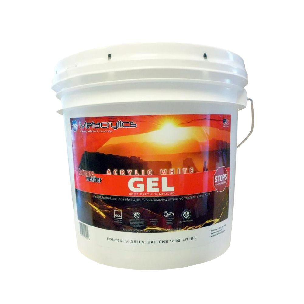 3.5 Gal. White Acrylic Gel Roof Patch