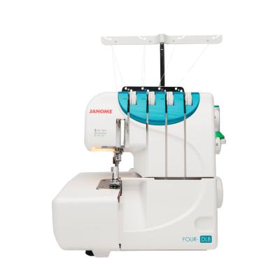Four-DLB Serger with 3/4 Thread Capability and Differential Feeding