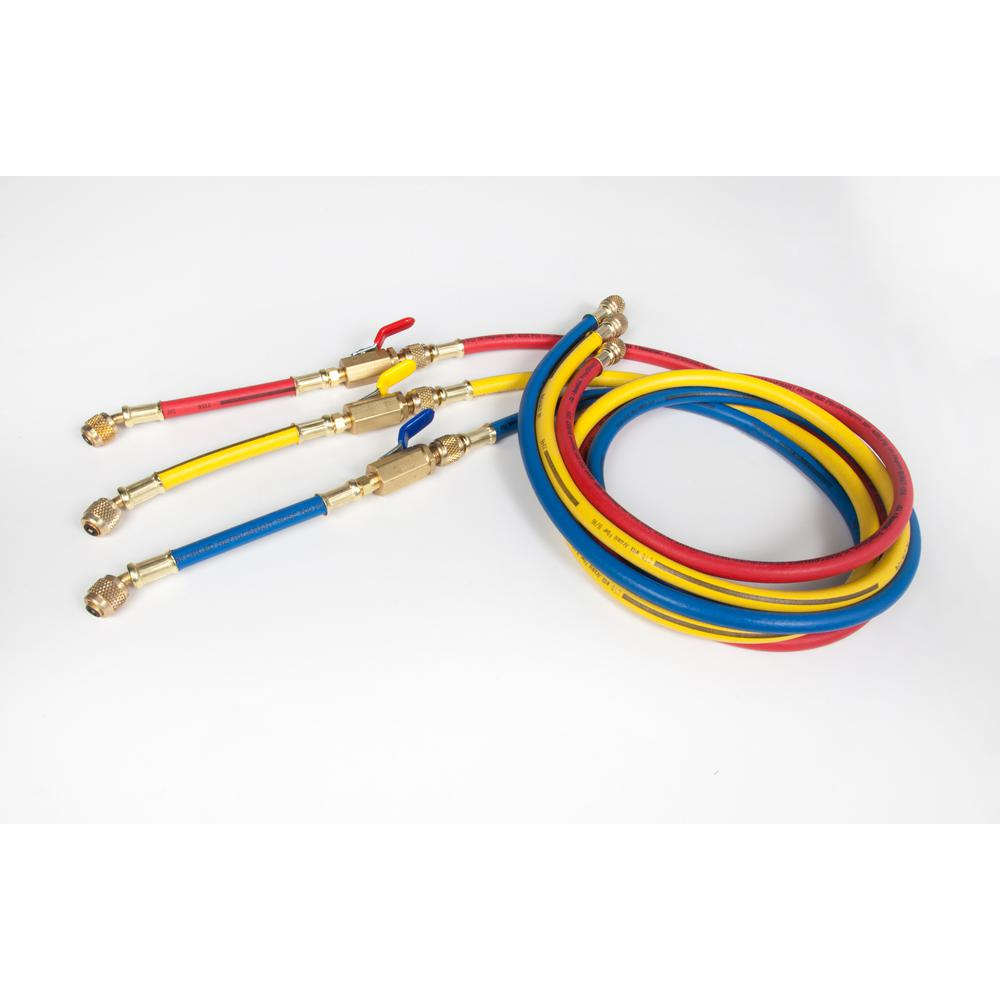 Imperial 6 ft. L PolarShield Charging Hose (3-Piece)