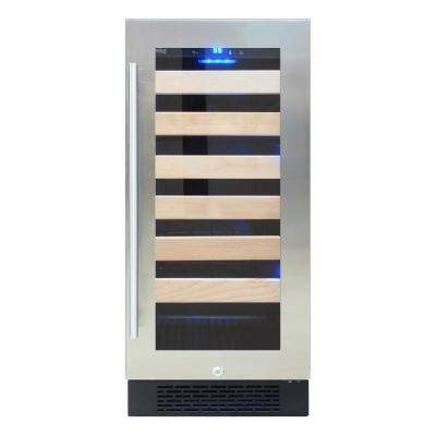 Single Zone 14.9 in. 27-Bottle Freestanding Wine Cooler