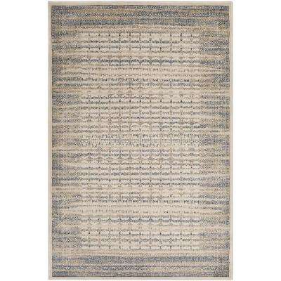 Kaitlyn Taupe 5 ft. 3 in. x 7 ft. 6 in. Indoor Area Rug