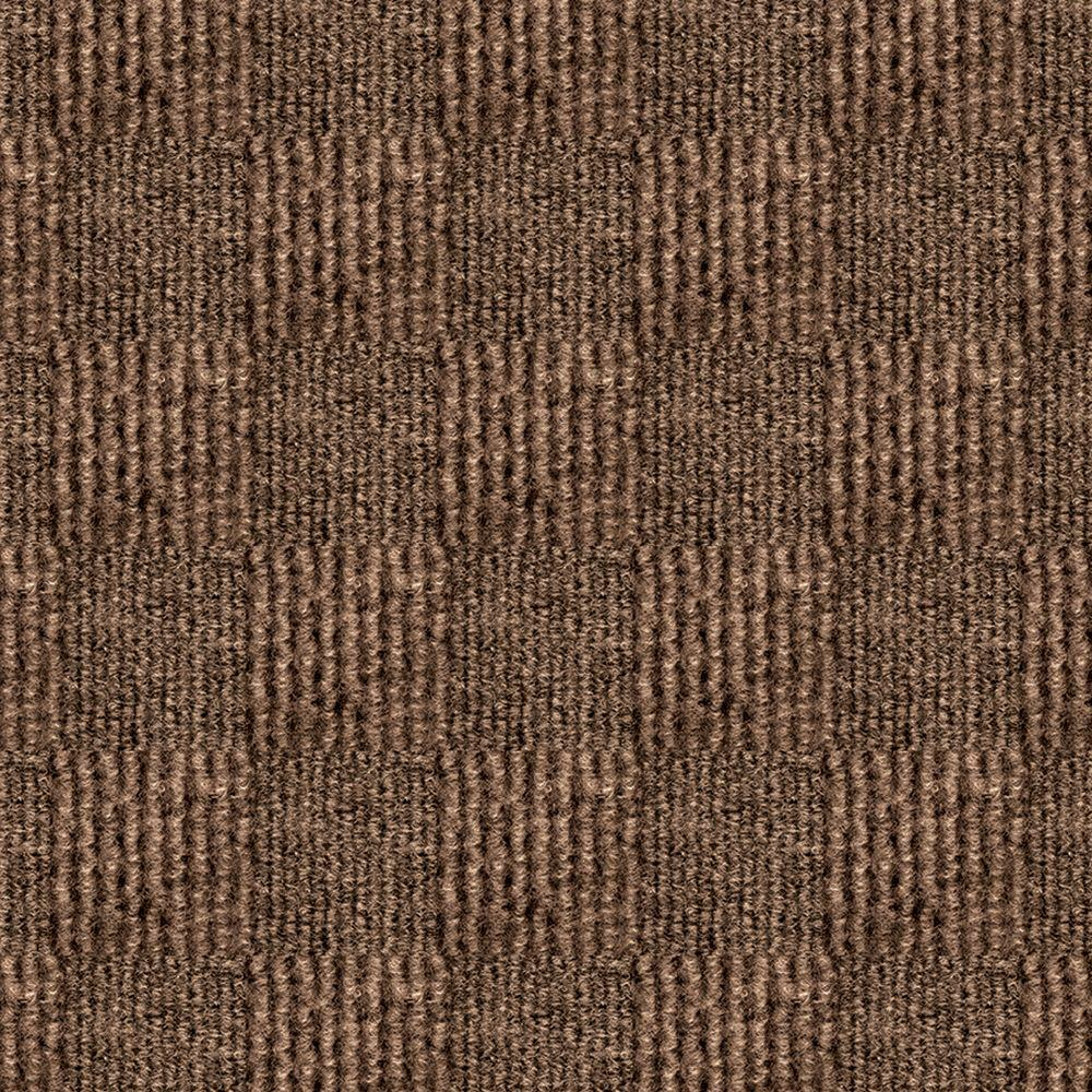 First Impressions City Block Chestnut Texture 24 in. x 24 in.
