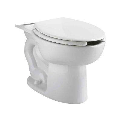 Cadet EverClean Pressure-Assisted 1.1/1.6 GPF Elongated Toilet Bowl Only  in White