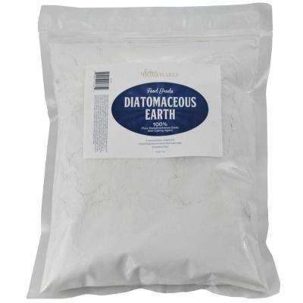2 lbs. Diatomaceous Earth Food Grade Zipper Bag