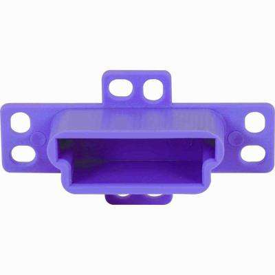 Plastic Drawer Track Back Plates (2-Pack)