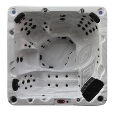 Niagara Falls 7-Person 60-Jet Standard Hot Tub with LED Lighting and Bluetooth Audio - 60Hz