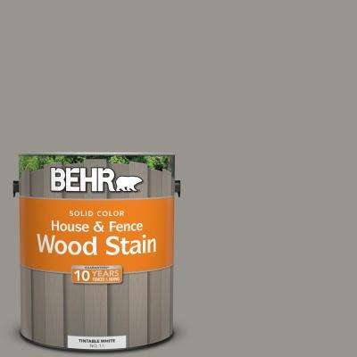 1 gal. #N360-4 Battleship Gray Solid House and Fence Wood Stain
