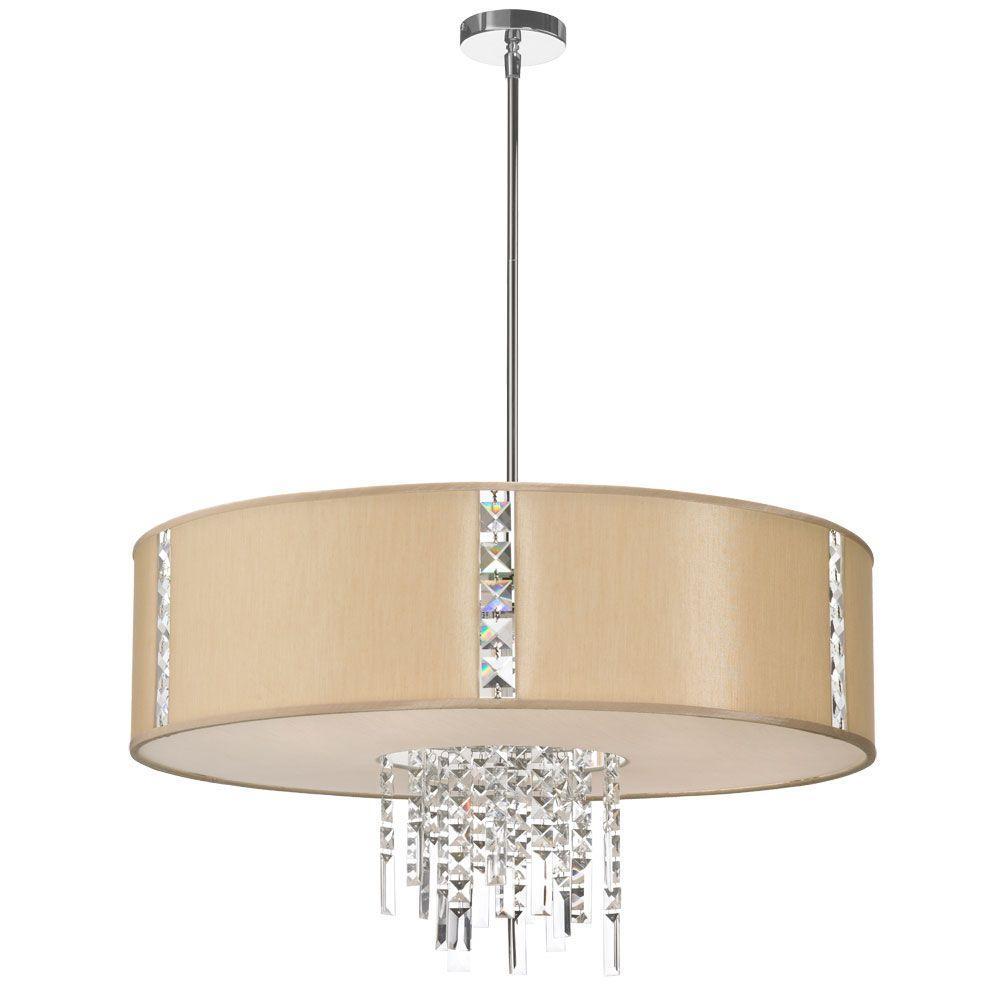 Catherine 4-Light Polished Chrome Pendant