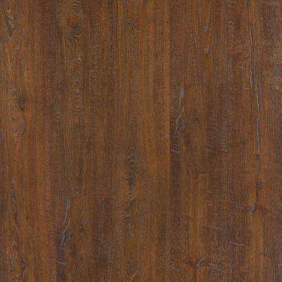 Outlast+ Waterproof Auburn Scraped Oak 10 mm T x 6.14 in. W x 47.24 in. L Laminate Flooring (16.12 sq. ft. / case)