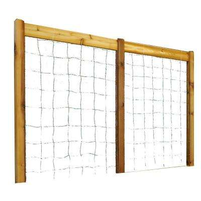 95 in. W x 80 in. H Safe Finish Raised Garden Bed Trellis Kit