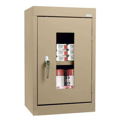 26 in. H x 16 in. W x 12 in. D Clear View Wall Cabinet in Tropic Sand