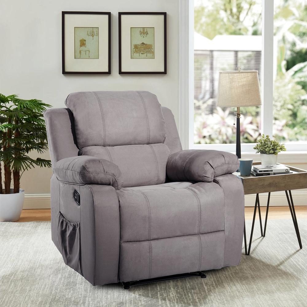 Heated Mage Ergonomic Recliner Sofa