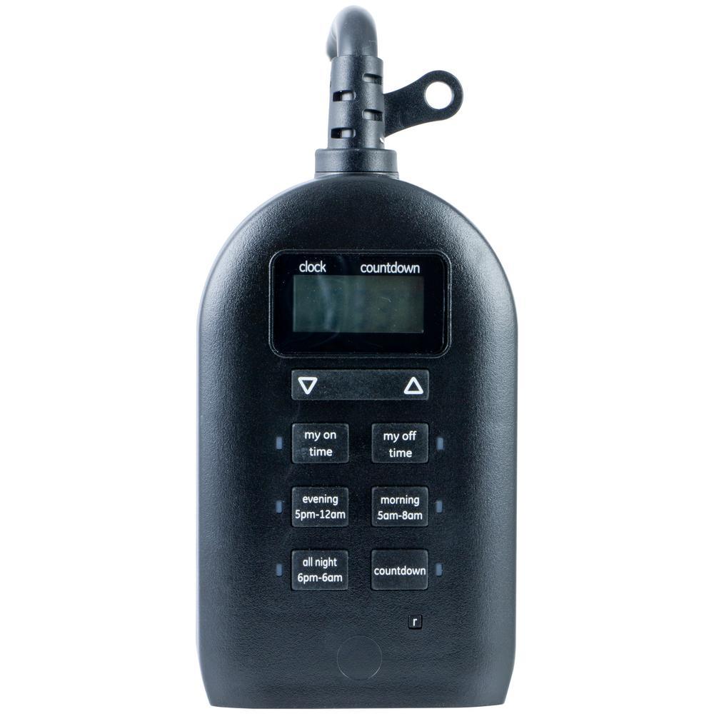 15 Amp Plug-In Indoor/Outdoor Digital Timer