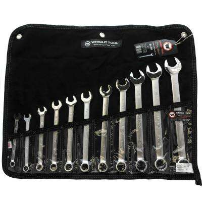 WrightGrip 12-Point Combination Wrench Set (11-Piece)